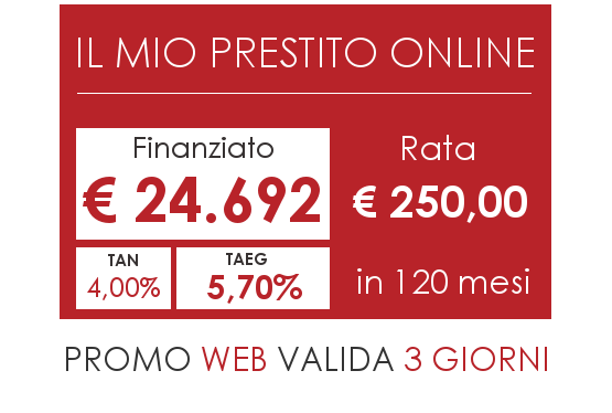 Prestito Online ISICredit 2017